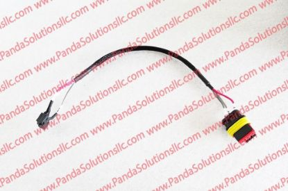 1115-520004-0A Belly Button Harness - 3 Pin Including Switch