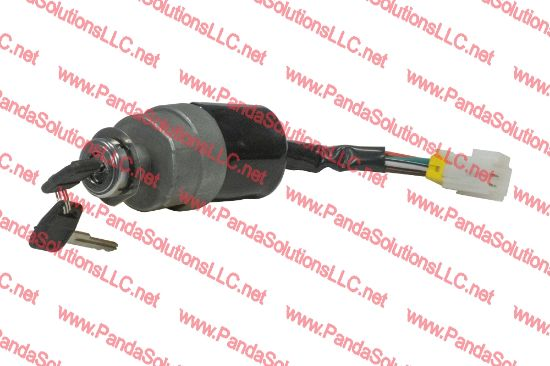 Picture of Mitsubishi forklift FD28N IGNITION SWITCH FN126506